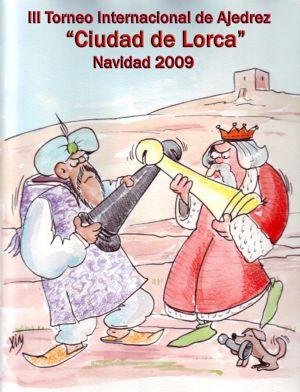 """III TORNEO DE AJEDREZ """"INTERNACIONAL DE NAVIDAD CIUDAD DE LORCA"""" - 2009"""