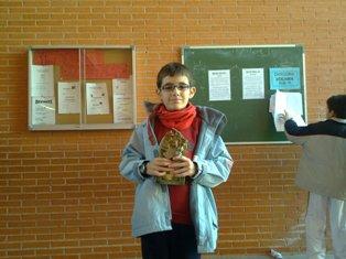 Daniel Motos (sub10) 3º lugar en el IV CIRCUITO ESCOLAR REGIONAL DE AJEDREZ LA VERDAD-EDUCAJEDREZ