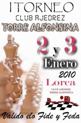 I TORNEO CLUB AJEDREZ TORRE ALFONSINA