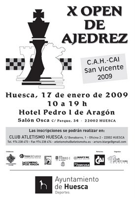 X Abierto de Ajedrez de Huesca